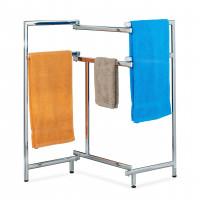 Skladací kovový stojan na uteráky RD1637, 81cm