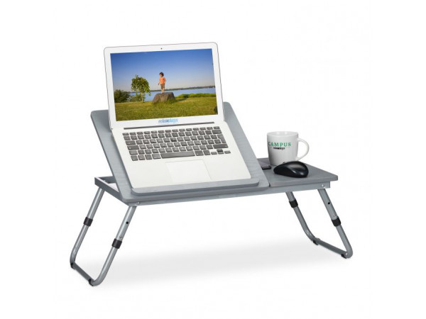 Stolík na notebook nastaviteľný RD1634, sivý