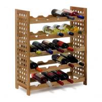 Orechový stojan na víno pre 25 fliaš RD9278