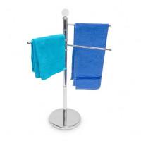 Stojan na uteráky nerezový RD9262, trojramenný