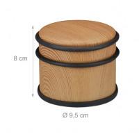 Zarážka na dvere RD0629 9,5 cm, svetlé drevo