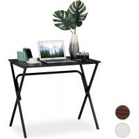 Malý písací stôl RD6045, čierny