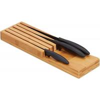Organizér na nože z bambusu RD8871, 39 cm
