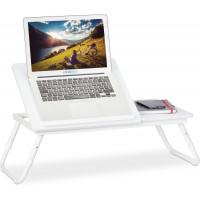 Nastaviteľný stolík na notebook RD1416, biely
