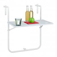 Balkónový závesný stôl RD5751, biely