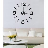 Nalepovacie nástenné hodiny, HM02, 50cm