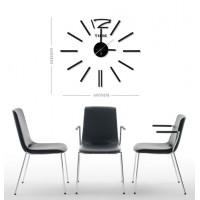 Nalepovacie nástenné hodiny, HM28, 60cm