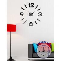 Nalepovacie nástenné hodiny, HM01B, 60cm
