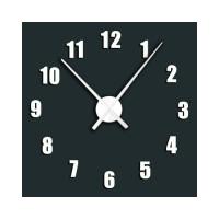 Nalepovacie nástenné hodiny, H12, 100cm