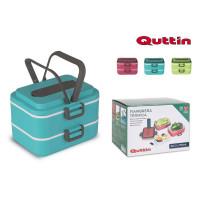 Termobox na jedlo Quttin 8940, dvojdielný 1,5L