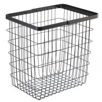 Kôš na bielizeň Yamazaki Tower Laundry Basket L, čierny