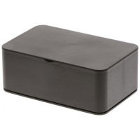 Krabička na vlhčené obrúsky Yamazaki Smart Wet Tissue Case, čierna
