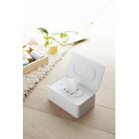 Krabička na vlhčené obrúsky Yamazaki Smart Wet Tissue Case, biela