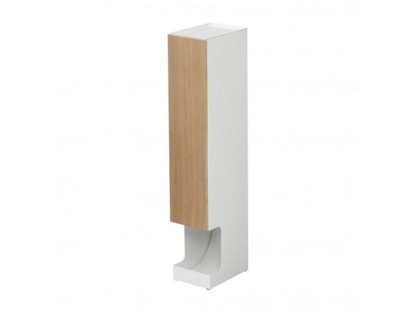 Zásobník na toaletné papiere Yamazaki 3528, biely