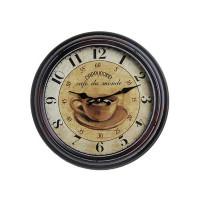 Nástenné hodiny Antique HOME 18883 Cappuccino, 22cm