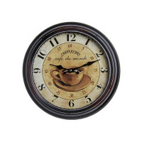 Nástenné hodiny Antique HOME 21154 Cappuccino, 37cm