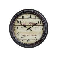 Nástenné hodiny Antique HOME 21154 Fine Wines, 37cm