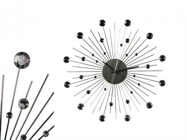 Nástenné hodiny SUN Crystal, 50cm