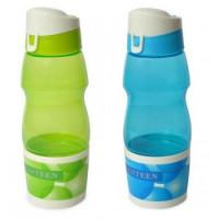 Fľaša na vodu s pohárom, 0,6L