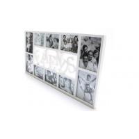 Fotorám Friends na 10 fotiek rd1862, biely, 72x36cm