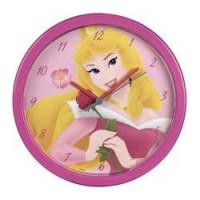 Nástenné hodiny Hama Princezná, ružová, 25cm