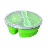 Box na jedlo Silikon tm-20, zelený