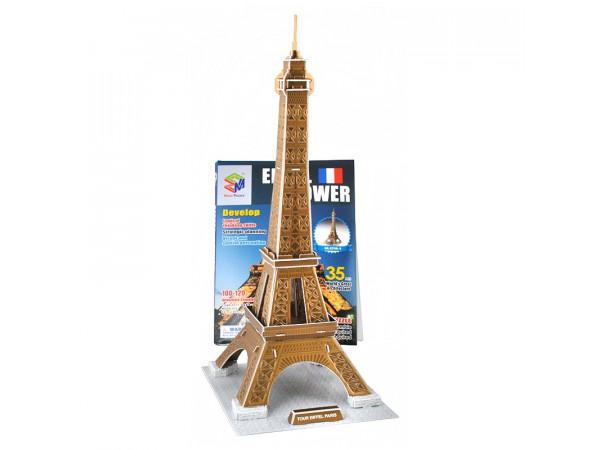 3D puzzle model Eiffelova veža, isot1383