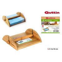 Bambusový držiak na servítky s ťažítkom Quttin 0024