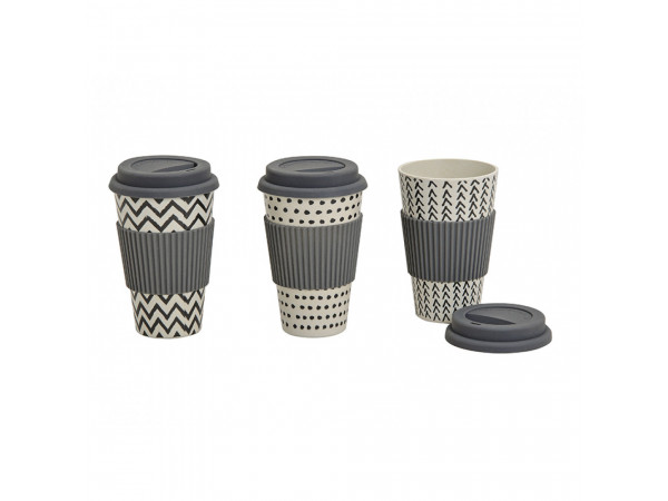 Ekologický bambusový pohár Dekor WUR5144, 250ml