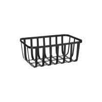 Kovový košík Five 0663, čierny