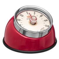 Mechanická kuchynská minútka Magnet Retro JJA84a, červená