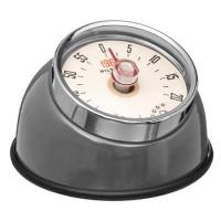 Mechanická kuchynská minútka Magnet Retro JJA84b, šedá