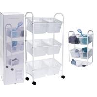 Kúpeľňový vozík so 6 košmi Bathroom Solutions 3042, 75 cm