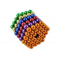 Magnetické guličky Neocube farebné 216ks, 5mm Isot6501