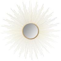 Nástenné zrkadlo so vzorom slnečných lúčov Atmosphera 7041, 70 cm