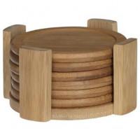 Podložky pod poháre 7-dielná sada Bambus Secret de Gourmet