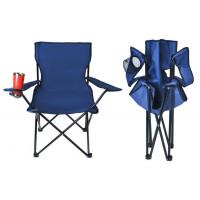 Skladacia rybarská stolička isot8002, modrá