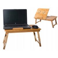 Bambusový skladací stolík na notebook VG1294