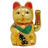 Čínska mačka pre šťastie XL CAT177,  21 cm