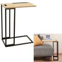 Odkladací stolík s držiakom na tablet Home deco factory HD6585
