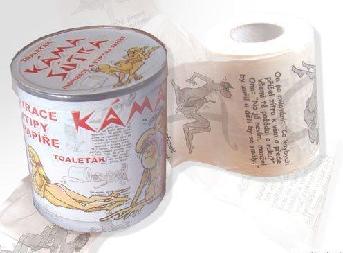 Toaletný papier Kamasutra